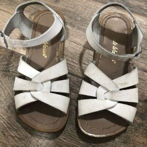 Girls Saltwater Sandals (Size 13)